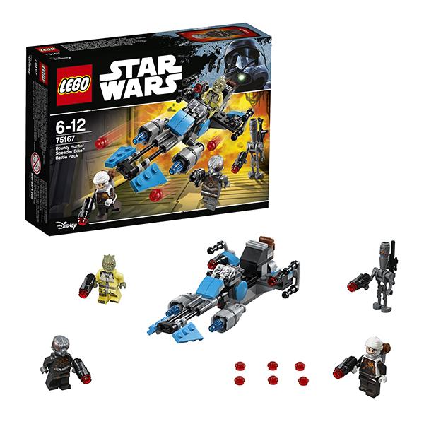 Lego Star Wars 75167 Конструктор Лего Звездные Войны Спидер охотника за головами lego игрушка звездные войны флэш спидер