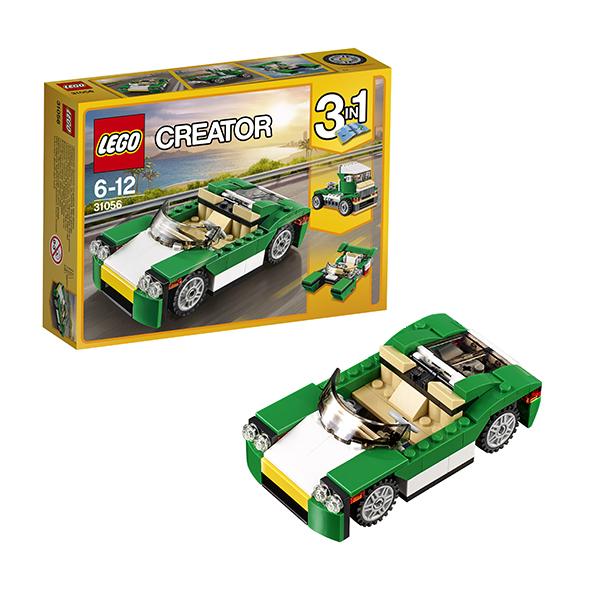 Lego Creator 31056 Конструктор Лего Криэйтор Зелёный кабриолет lego lego creator 31044 лего криэйтор животные в парке