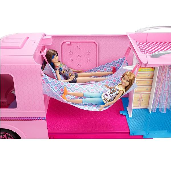 Mattel Barbie FBR34 Волшебный раскладной фургон