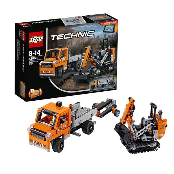 Lego Technic 42060 Конструктор Лего Техник Дорожная техника lego technic 42054 лего техник claas xerion 5000 trac vc