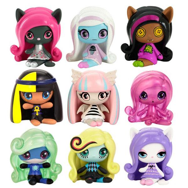 Mattel Monster High DVF41 Мини-фигурки (в ассортименте) детские наклейки монстер хай monster high альбом наклеек