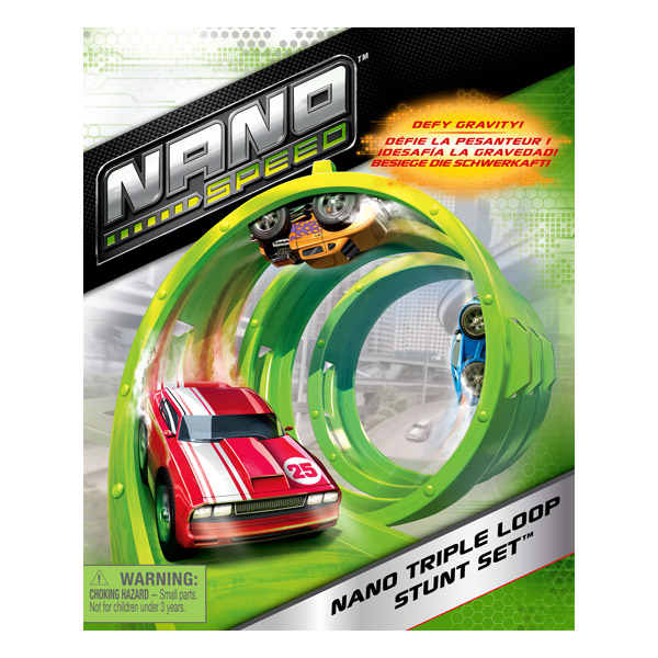 Nano Speed 90104_1 Нано Cпид Машинка плюс трек в форме спирали
