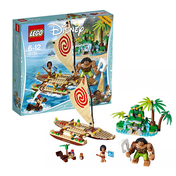 Lego Disney Princess 41150 Конструктор Лего Принцессы Путешествие Моаны через океан lego disney princess 41150 лего принцессы путешествие моаны через океан