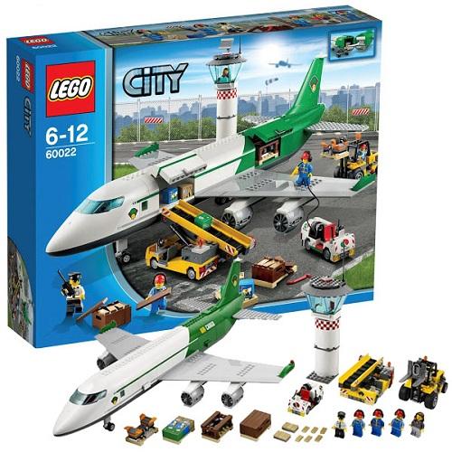 Конструктор Lego City 60022 Лего Город Грузовой терминал