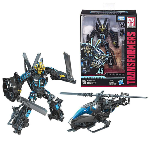 Hasbro Transformers E0701/E4710 Трансформер Дрифт 20 см. коллекционный hasbro transformers e0701 трансформер коллекционный 20 см lockdown