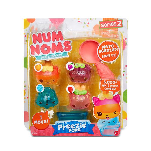 Num Noms 544449 Нам Номс Фигурки коллекционные 4 шт в упаковке (в ассортименте)