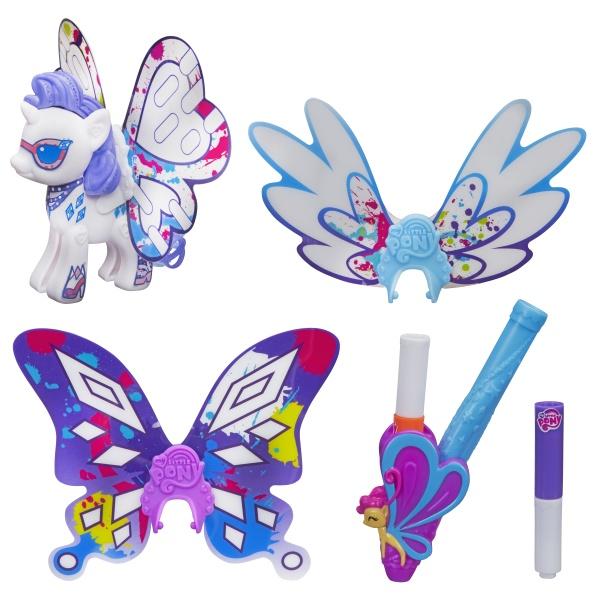 Hasbro My Little Pony B3590 Создай свою пони с крыльями (в ассортименте) hasbro my little pony b3590 создай свою пони с крыльями в ассортименте