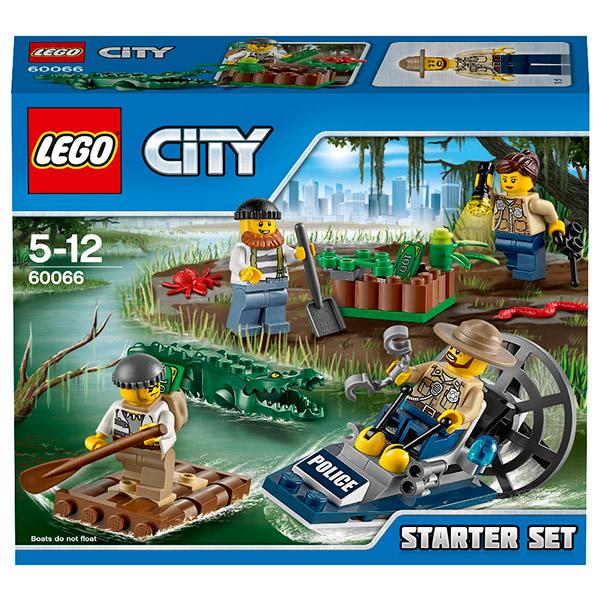 Lego City 60066 Конструктор Лего Город Новая лесная полиция для начинающих