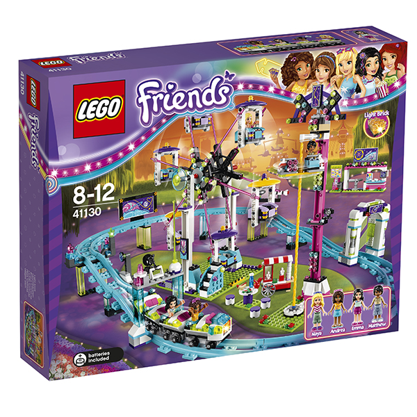 Lego Friends 41130 Лего Подружки Парк развлечений: американские горки