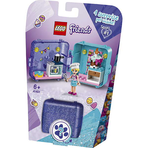 LEGO Friends 41401 Конструктор ЛЕГО Подружки Игровая шкатулка Стефани