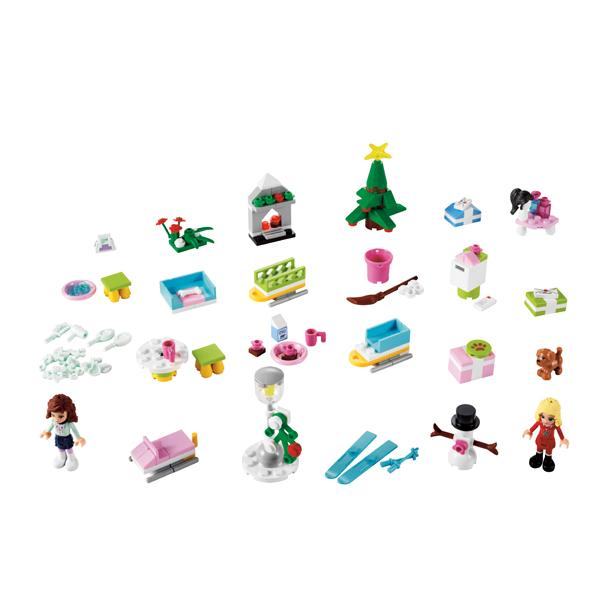Лего Подружки 3316 Конструктор Новогодний календарь LEGO Friends