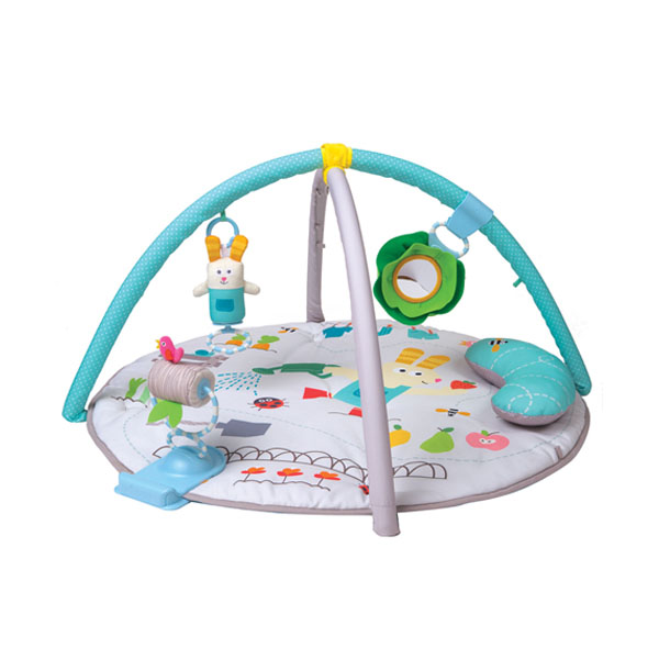 Taf Toys 12195 Таф Тойс Круглый развивающий коврик (с подушкой) 90*90