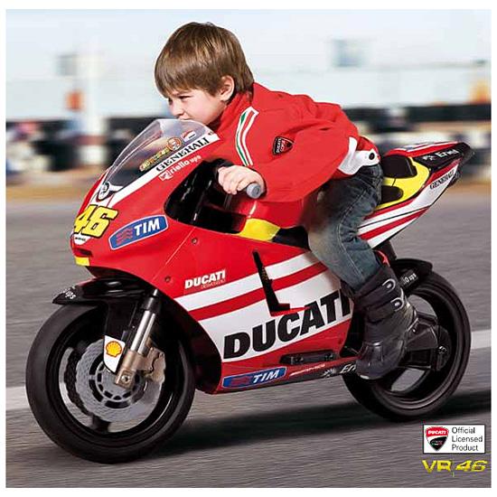 Детский электромотоцикл Peg-Perego MC0016 DUCATI GP Rossi