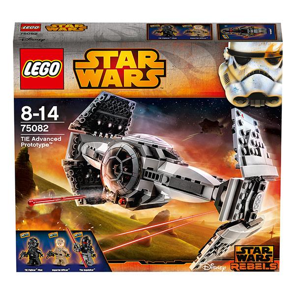 Lego Star Wars 75082 Конструктор Лего Звездные Войны Улучшенный прототип истребителя TIE