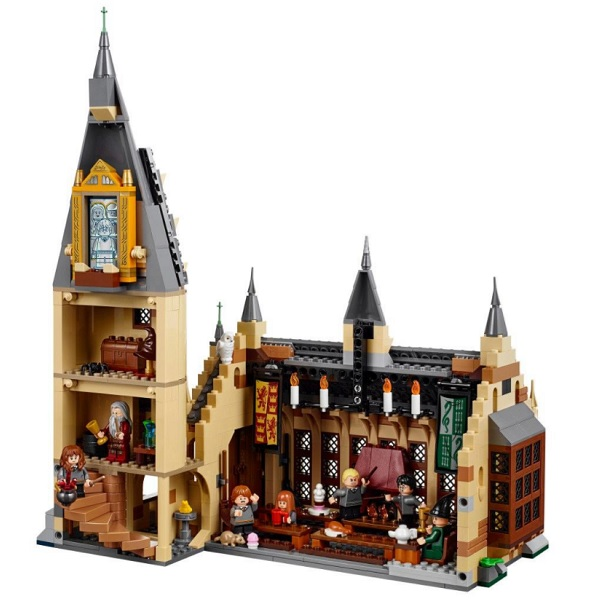 LEGO Harry Potter 75954 Конструктор ЛЕГО Гарри Поттер Большой зал Хогвартса
