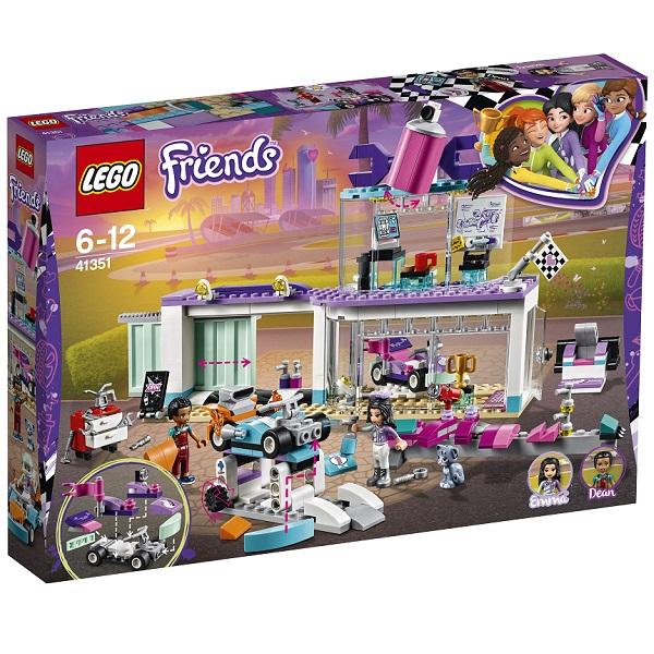LEGO Friends 41351 Конструктор ЛЕГО Подружки Мастерская по тюнингу автомобилей