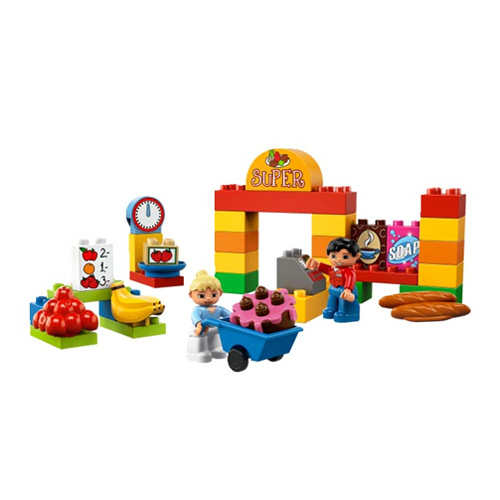 Лего Дупло 6137 Мой первый Супермаркет