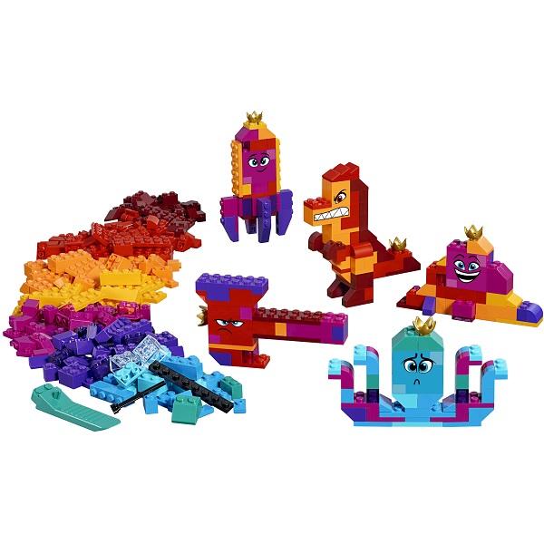 """Конструктор Lego Movie 2 70825 Конструктор 2 Шкатулка королевы Многолики """"Собери что хочешь"""""""