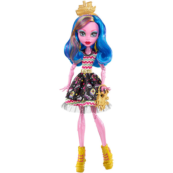 "Mattel Monster High FBP35 Школа Монстров Гулиопа Джеллингтон из серии ""Пиратская авантюра"""