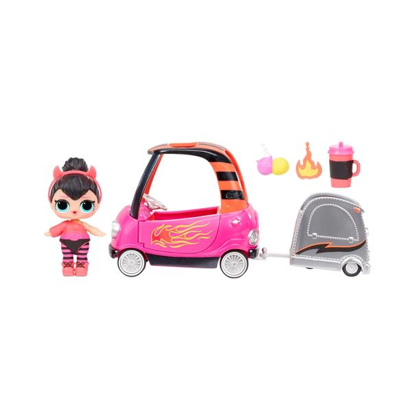 L.O.L. Surprise 572619 Игровой набор с куклой - автомобиль с прицепом