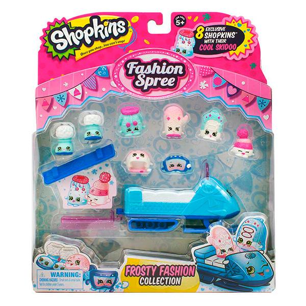 """Shopkins 56295 Шопкинс Игровой набор """"Модная лихорадка"""" Морозная мода"""