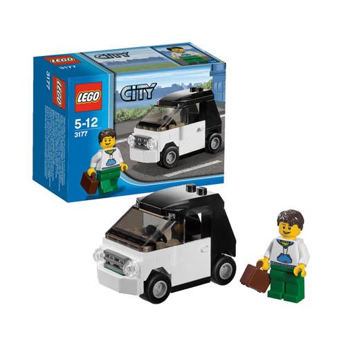 LEGO City 3177_1 Конструктор ЛЕГО Город Маленький автомобиль