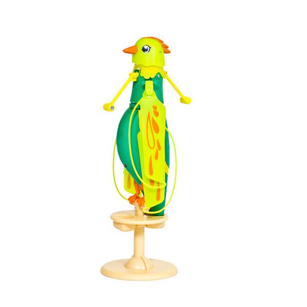Zippi Pets 201505000_9 Зиппи Петс Интерактивная, летающая птичка (Зеленая)