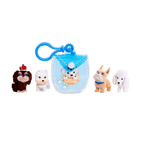 Puppy In My Pocket 48180-T Щенок в моем кармане Брелок-сумочка (голубая)