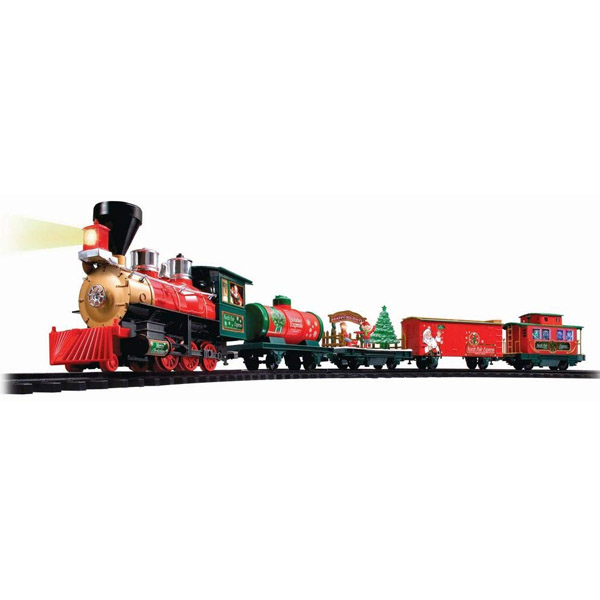 Eztec 37297 Радиоуправляемая новогодняя железная дорога NORTH POLE EXPRESS (33 части)