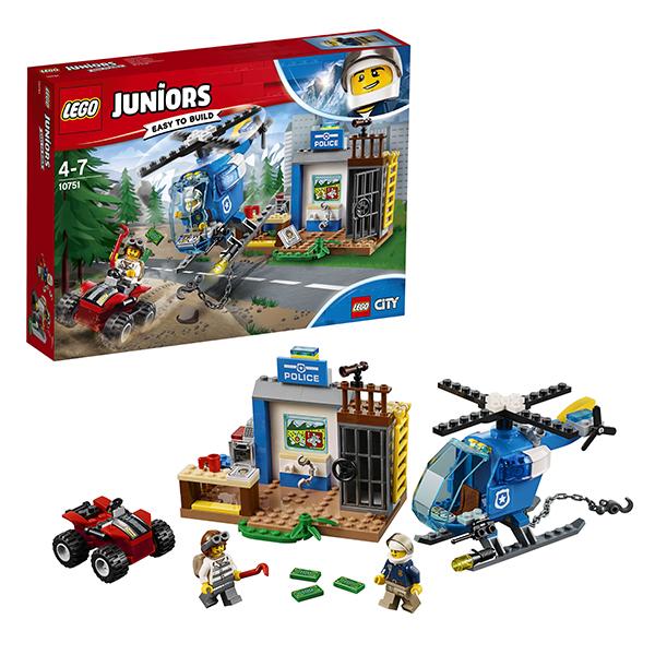 Lego Juniors Погоня горной полиции 10751