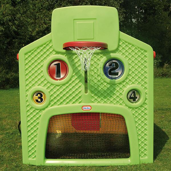 Little Tikes 444C Литл Тайкс Мульти-домик (спорт, школа, заправка, магазин)