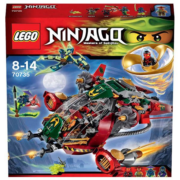 LEGO Ninjago 70735 Конструктор ЛЕГО Ниндзяго REX Вертолет Ронана