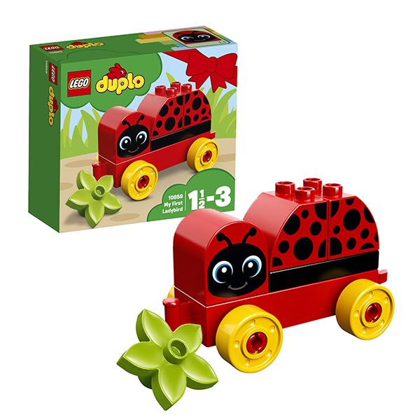 Lego Duplo 10859 Конструктор Лего Дупло Моя первая божья коровка lego lego duplo 10831 моя веселая гусеница