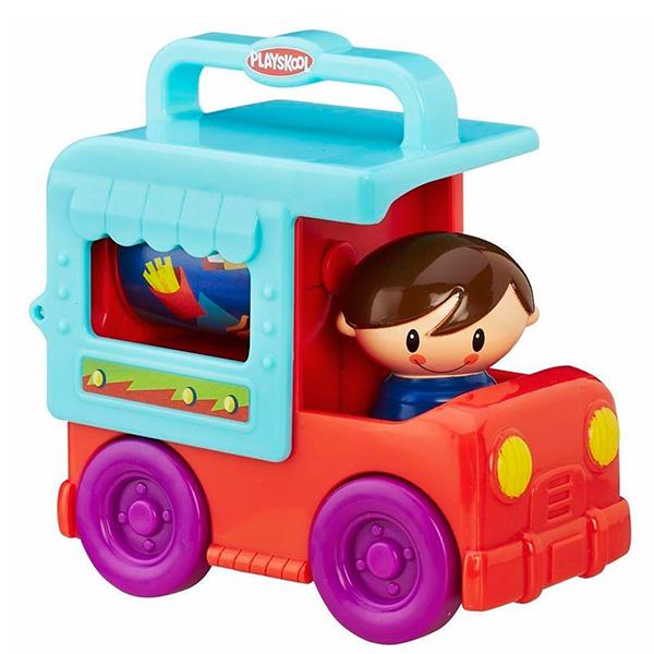 Hasbro Playskool B4533 Возьми с собой Грузовичок Сложи и кати (в ассортименте) hasbro игрушка каталка playskool возьми с собой мини щенок