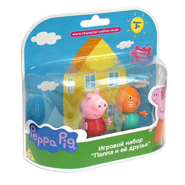"Peppa Pig 28818 Свинка Пеппа Фигурки ""Пеппа и Кенди"""