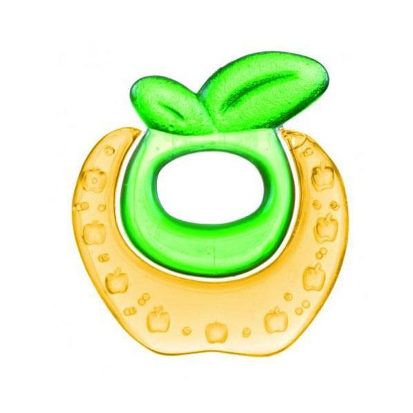 Canpol babies 250930482 Прорезыватель водный охлаждающий,Fruits, желтое яблочко, 0+