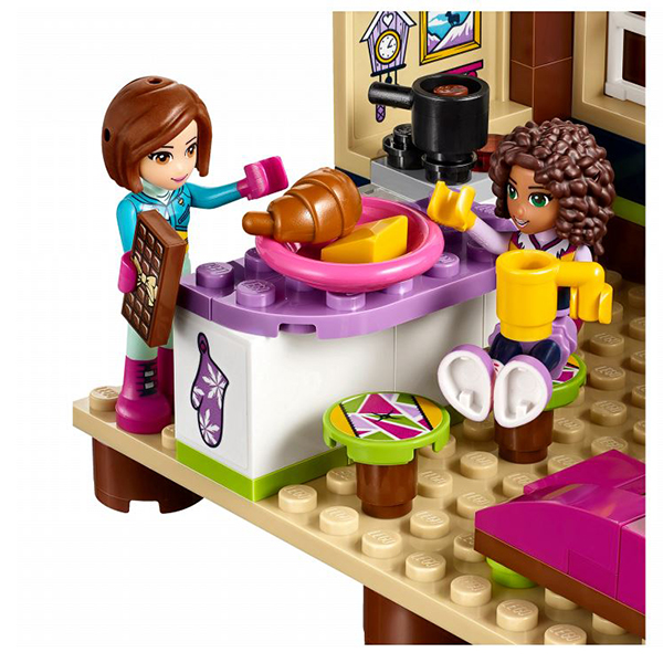 Лего Подружки 41323 Горнолыжный курорт: шале