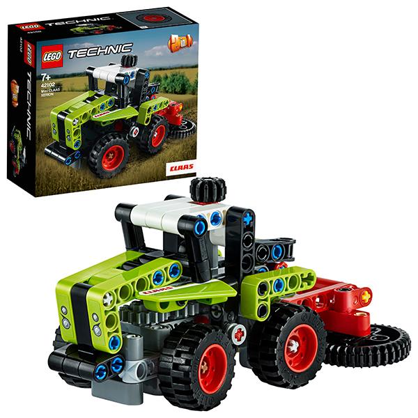 лучшая цена LEGO Technic 42102 Конструктор ЛЕГО Техник Mini CLAAS XERION