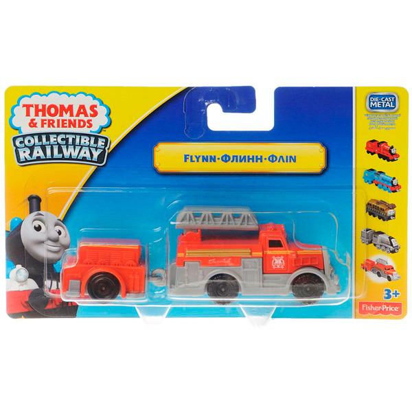 Thomas & Friends BJG53 Томас и друзья Паровозик Флинн с прицепом