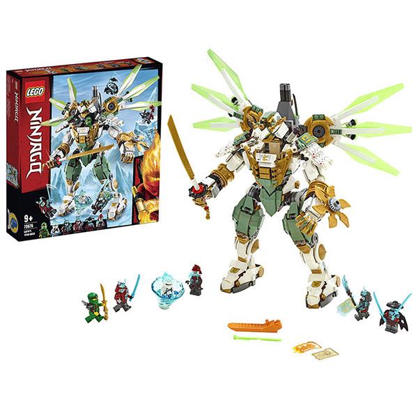 LEGO Ninjago 70676 Конструктор ЛЕГО Ниндзяго Механический Титан Ллойда