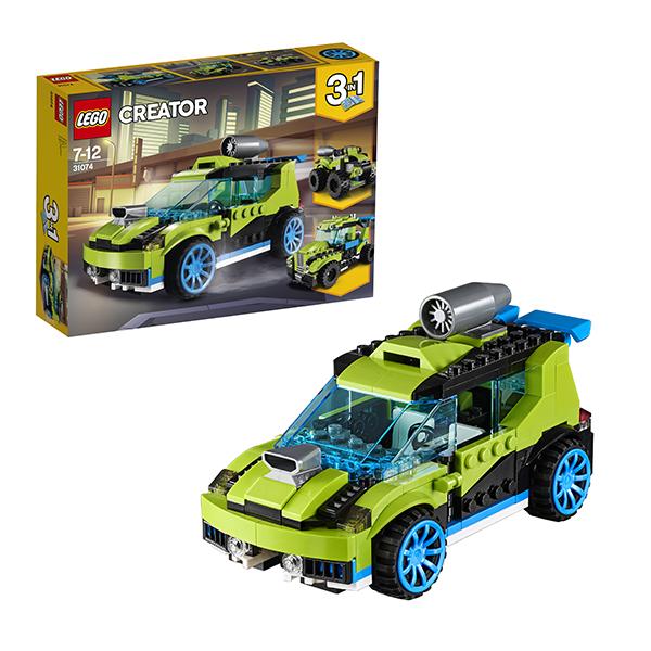 Lego Creator 31074 Конструктор Лего Криэйтор Суперскоростной раллийный автомобиль lego lego creator 31044 лего криэйтор животные в парке