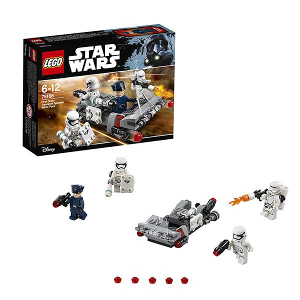 Lego Star Wars 75166 Конструктор Лего Звездные Войны Спидер Первого ордена lego star wars 75166 лего звездные войны спидер первого ордена