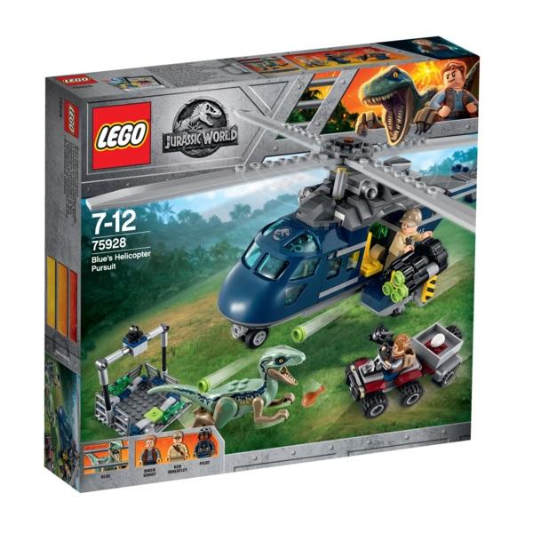 LEGO Jurassic World 75928 Конструктор ЛЕГО Мир Юрского Периода Погоня за Блю на вертолёте
