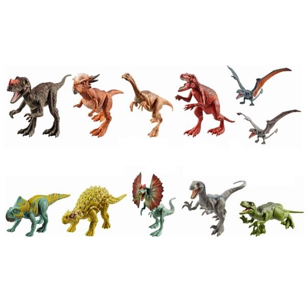 Mattel Jurassic World FPF11 Фигурки динозавров Атакующая стая (в ассортименте) лапы динозавра jurassic world