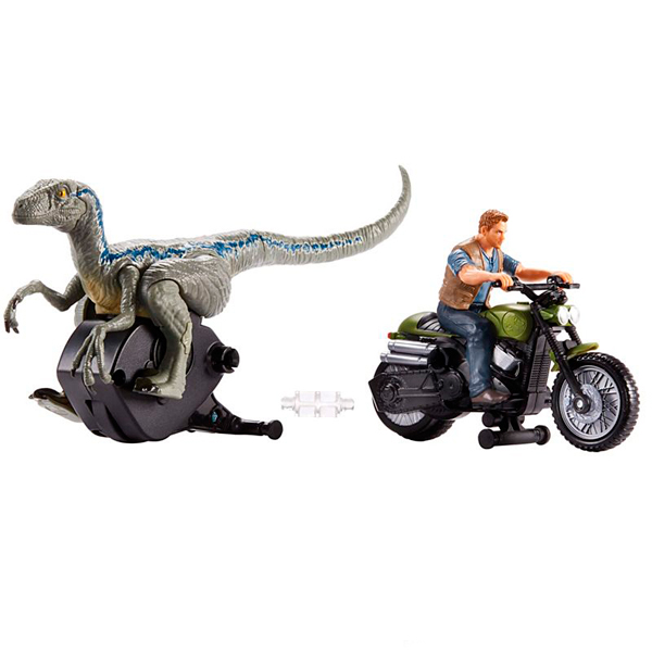 Mattel Jurassic World FMM34 Заводные преследователи Owen