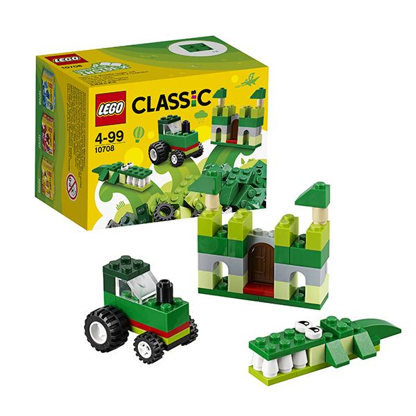Lego Classic 10708 Лего Классик Зелёный набор для творчества