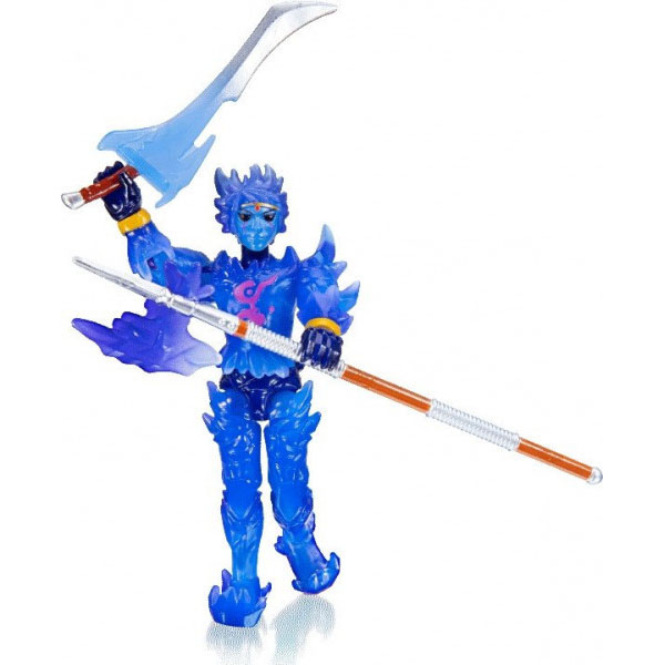 Roblox ROB0272 Фигурка героя Crystello the Crystal God (Imagination) с аксессуарами