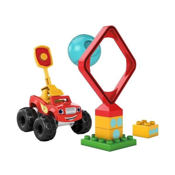 Mattel Mega Bloks DPH74 Мега Блокс Монстр - трак mattel mega bloks cnd62 мега блокс маленькие транспортные средства в ассортименте