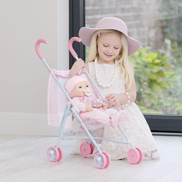 Zapf Creation Baby Annabell 1423478 Бэби Аннабель Коляска-трость с сеткой, 2017