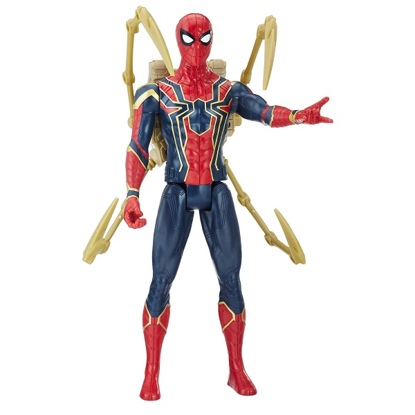 Hasbro Avengers E0608 Фигурка Человека Паука Пауэр Пэк игрушка hasbro avengers интерактивная фигурка первого мстителя b6176121